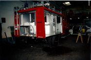 LF8 während des Aufbaus im Werk von Schlingmann