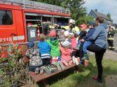 Besuch Feuerwehr Kita