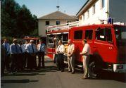 Übergabe LF8 1996