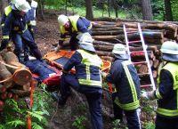 Weiterlesen: Übung Rettungskette Forst